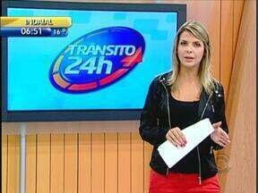 Trânsito 24h: serviço da Zona Azul de estacionamentos retorna em Florianópolis - Trânsito 24h: serviço da Zona Azul em estacionamentos retorna em Florianópolis