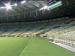Novo Maracanã vai ser aberto no próximo sábado (27) - Depois de quase três anos fechado para reforma, o estádio do Maracanã, vai ser reaberto no próximo sábado (27), no Rio de Janeiro. O estádio vai ser palco das finais da Copa das Confederações e da Copa do Mundo de 2014.