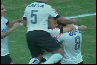 Corinthians e Santos vencem na última rodada da primeira fase do Paulista - O Corinthians venceu o Atlético Sorocaba por 2 a 0 e o Santos derrotou o Penapolense por 2 a 1. Já o Palmeiras perdeu por 2 a 1 para o Ituano e o São Paulo foi derrotado pelo Mogi Mirim por 1 a 0.