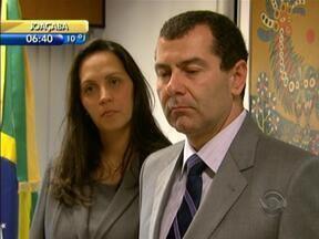 Leandro Zanini é empossado como novo procurador-geral do Estado de Santa Catarina - Leandro Zanini é empossado como novo procurador-geral do Estado de Santa Catarina