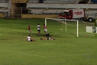 Sergipe e River Plate empatam pelo Sergipão - O jogo que aconteceu debaixo de chuva teve quatro gols, dois para cada lado. A chuva atrapalhou os planos da torcida colorada e pouca gente prestigiou o time da capital e do interior em um jogo que terminou em 2 a 2