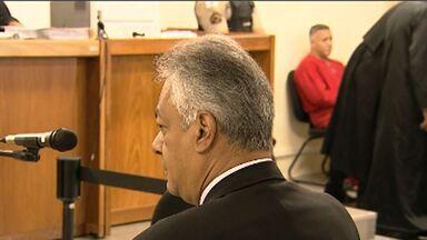 Discussões marcam quarto dia de julgamento de Bola - Ex-delegado Edson Moreira e o advogado Ércio Quaresma se desentenderam no plenário.
