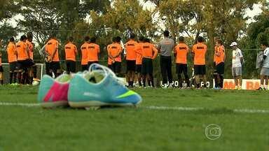 Atlético-MG prepara time para partida contra Tombense - Jogo acontece na cidade de Tombos e apresenta fase semifinal do Campeonato Mineiro.