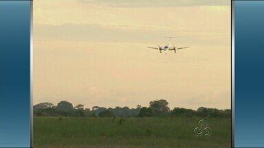 Aeroporto de Parintins volta a funcionar em período integral, no AM - Liminar reabriu o aeroporto para voos diurnos.