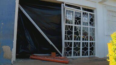 Caixas eletrônicos de agência são explodidos em Turvolândia, MG - Caixas eletrônicos de agência são explodidos em Turvolândia, MG
