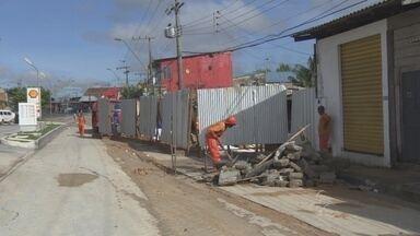 Obra continua interdição na Alameda Cosme Ferreira - Localizada na Zona Leste de Manaus, a Alameda Cosme Ferreira continua interditada parcialmente para obras.