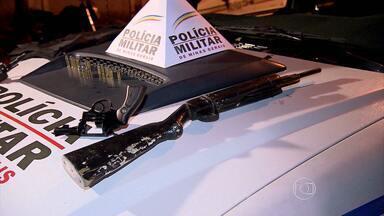 Polícia Militar é recebida a tiros na Região Nordeste de Belo Horizonte - Uma pessoa foi presa e dois apreendidos.