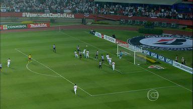 Atlético-MG vence o São Paulo de virada pela Libertadores - Jogo foi no Morumbi. As duas equipes voltam a se enfrentar na quarta-feira.