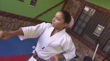 Carateca da Região vai disputar o Mundialito - Rebeca Torquato vai fazer sua primeira viagem internacional para competir no Mundialito.