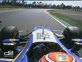Brasileiro Felipe Nasr chega em segundo lugar no GP2 de Barcelona - O piloto está na segunda colocação do campeonato, logo atrás de Stefano Coletti.