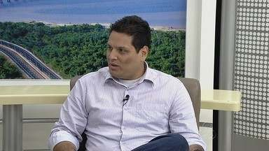 Coordenação do Saúde Itinerante participa de entrevista no Amazonas TV - Saúde Manaus itinerante leva carretas a bairros de Manaus oferecendo exames gratuitos. O projeto participa do projeto Ação Global que acontece no próximo sábado (18).