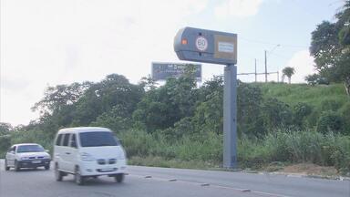 Rodovias que cortam PE são fiscalizadas por 8 novos radares - Equipamentos foram instalados no Grande Recife e Agreste do estado.
