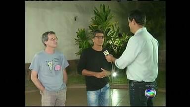"""Blitz faz show em Volta Redonda, no RJ - Banda serviu de inspiração para roteiro da série """"Armação ilimitada"""", exibida na Globo nos anos 1980."""