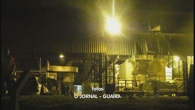 Um operário morre e dois ficam feridos em indústria de Guaíra, SP - Empresa teve rompimento de uma fornalha.