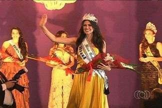 Miss Goiás 2013 é escolhida, em Goiânia - O concurso para eleger a Miss Goiás 2013 foi realizado na noite de segunda-feira (13). A candidata de Aruana é a vencedora.
