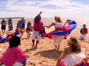 Conteúdo exclusivo! Grupo de carimbó faz uma apresentação exclusiva para o Globo Mar - Grupo paraense de Carimbó mostra toda a tradição do ritmo paraense e homenageia o programa com uma composição exclusiva.