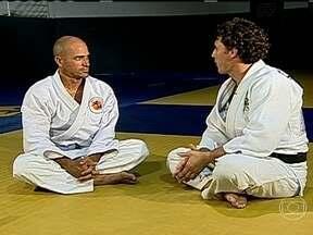 Kelly Slater conversa com Flávio Canto e fala sobre paixão pelo jiu-jitsu - Surfista disse que sempre gostou de lutas.