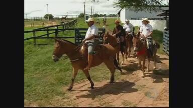 Pernambucanos saíram do Ceará para cavalgada de 500 km até Caruaru - A cavalgada é uma prova de devoção a Padre Cícero e Frei Damião.