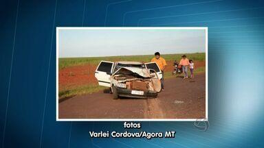 Dois índios são vítimas de acidente em rodovia - Dois índios morreram nesta segunda-feira (20) em acidente na rodovia estadual MT-040, perto do distrito de São Lourenço, em Juscimeira, município da região sul de Mato Grosso.