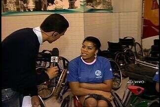 Competição de atletas paraolímpicos começa em Vitória - Trata-se do campeonato de basquete e rúgbi para atletas paralímpicos, que acontece no Ginásio do DED, em Bento Ferreira.