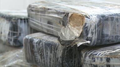 Polícia faz mais uma apreensão de crack em Igarassu - Nesta quarta, foram encontrados 104 quilos da droga escondidos dentro de um tonel. Um dia antes, outros 100 quilos já haviam sido apreendidos.