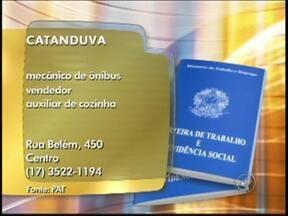 Confira as vagas de emprego anunciadas no Bom Dia Cidade de Rio Preto, SP - O Bom Dia Cidade desta quinta-feira (23) traz diversas vagas de emprego para quem está em busca de oportunidades no noroeste paulista. Confira as vagas.