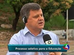 Seleção de profissionais para a rede de ensino de Cuiabá - Estão abertas as inscrições para seleção de mais de 300 profissionais para a rede de ensino de Cuiabá.