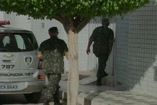 Operação do Exército apreendeu mais de 700 quilos de explosivos na PB e RN - Objetivo é inibir a ação de bandidos que estão explodindo caixas eletrônicos nesses estados.