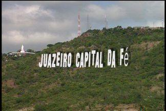 Juazeiro do Norte vai ganhar letreiro gigante estilo hollywoodiano - Letreiro terá escrito 'Capital da Fé'.
