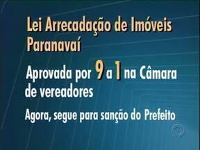 Foi aprovada a lei que autoriza a prefeitura a tomar imóveis abandonados em Paranavaí - A partir de agora a lei só espera a sanção do prefeito.