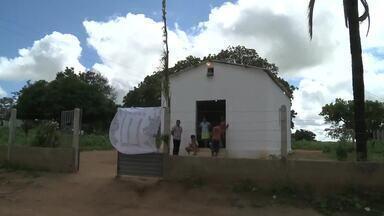 Procissão em homenagem a Virgem Maria - Os moradores de Igaci, no Agreste de Alagoas, manteram a tradição de terminar o mês com a procissão. O evento já faz parte do calendário cultural da região.