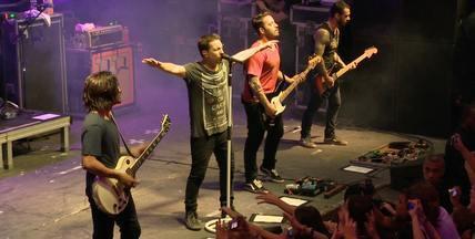 Em Movimento: NX Zero - O Em Movimento foi conferir o show da banda em Vitória.