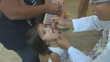 Começa neste sábado campanha de vacinação contra poliomielite - A meta, em Porto Velho, é imunizar mais de 30 mil crianças.