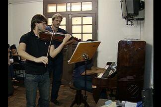 Músicos internacionais aproveitam festival para fazer intercâmbio no Pará - Músicos internacionais aproveitam festival para fazer intercâmbio no Pará.