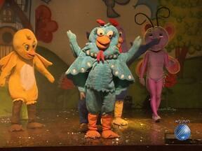 Espetáculo 'Os Amigos da Galinha Pintadinha' está em cartaz em Salvador - O show sempre encanta crianças e adultos, ao resgatar antigas cantigas de roda.