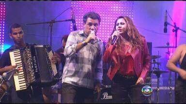 Público lota Chevrolet Hall na 1ª noite do São João da Capitá, no Recife - Musa do Calypso, Calcinha Preta e Luan Santana colocaram multidão para dançar.
