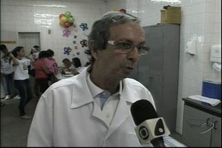 Campanha contra poliomielite começa em Cachoeiro de Itapemirim, no Sul do ES - Campanha contra poliomielite começa em Cachoeiro de Itapemirim, no Sul do ES.