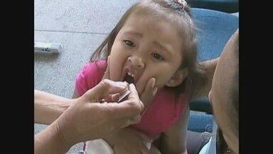 Parintins adere a campanha contra paralisia infantil - Meta é vacinar mais de 10 mil crianças entre a zona urbana e rural do município.