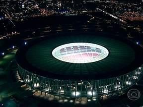 Estádio Mané Garrinha vai receber jogo de estreia do Brasil na Copa das Confederações - A partir desta semana, a paixão pelo futebol vai mexer ainda mais com a vida do Brasil. A Seleção Brasileira entra em campo para um torneio que é uma prévia da Copa do Mundo.