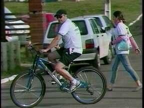 Passeio ciclístico marca mês do Meio Ambiente em SC - Passeio ciclístico marca mês do Meio Ambiente em SC.