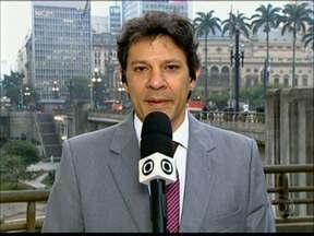 'Prefeitura não pode se submeter ao jogo de tudo ou nada', diz Haddad - O prefeito de São Paulo, Fernando Haddad, voltou a criticar na manhã desta sexta-feira (14) a violência dos protestos contra o aumento de tarifas no transporte público e reiterou que não pretende voltar atrás no reajuste.