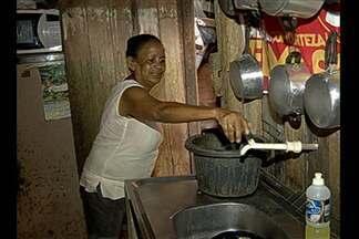 Moradores do Riacho Doce sofrem com a falta de água nas torneiras - Moradores do Riacho Doce sofrem com a falta de água nas torneiras