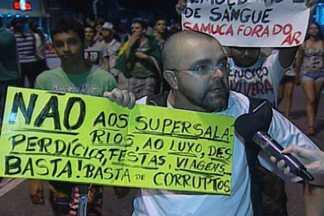 Paraibanos falam sobre pelo que lutaram no protesto desta quinta-feira - Confira o que eles disseram.