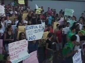 Manifestações acontecem em várias cidades do interior do estado do Piauí - Manifestações acontecem em várias cidades do interior do estado do Piauí
