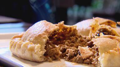 Empanada do Uruguai - Chef Sofia Mota ensina a fazer empanada de carne.