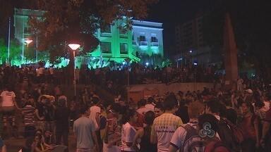 Jovens e empresários de Porto Velho aderiram ao movimento Vem Pra Rua - Milhares de pessoas foram às ruas da capital nesta quinta-feira (20) para pedir melhorias no governo e na política.