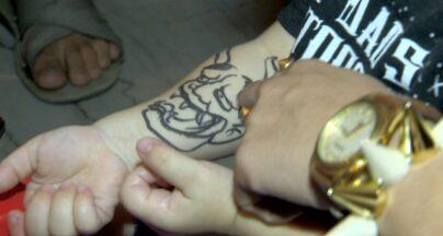 Em Movimento: Expo tatoo - Fomos até uma convenção de tatuagem e conhecemos pessoas com inúmeras tatoos e de todos os tipos!