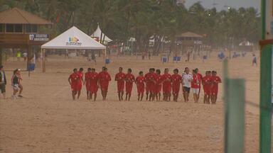 Já está no Recife a seleção do Taiti, que virou xodó brasileiro - Time tem a pior campanha da Copa das Confederações.