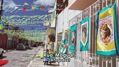 Concurso vai escolher rua do Recife que tem a decoração de São João mais caprichada - Vencedores vão ganhar um arraial com show de Cezzinha.