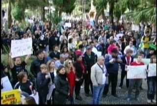 Mais protestos na região norte do Estado - Nesse sábado as cidades de São Bento do Sul, Barra Velha e Garuva participaram das manifestações.